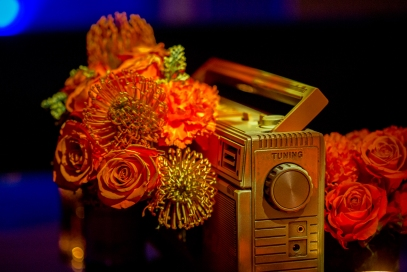 Vintage Cassette player florals! Lu-shawn's 80's Party