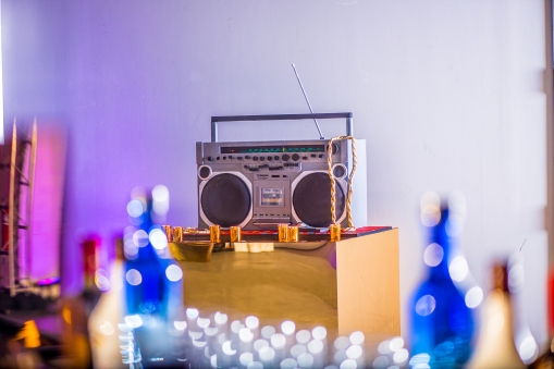 Lu-shawn's 80's Party. Old school radio cake by Lovely Cakes CT